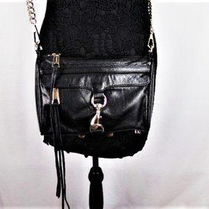Rebecca Minkoff Black Mini Crossbody Bag